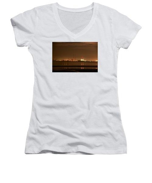 Dublin Glow Women's V-Neck T-Shirt