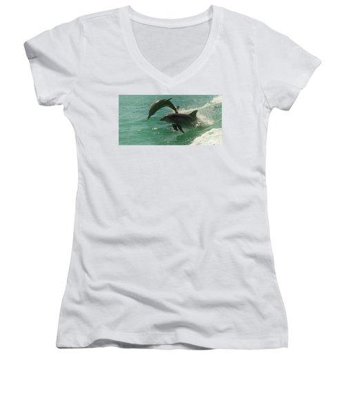 Duet Women's V-Neck T-Shirt