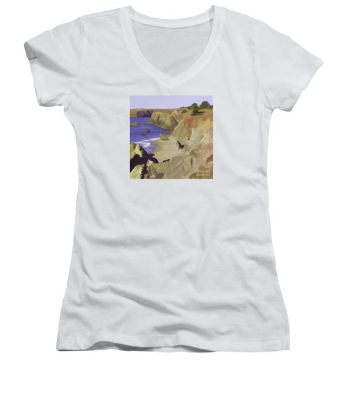 Above Bodega Women's V-Neck