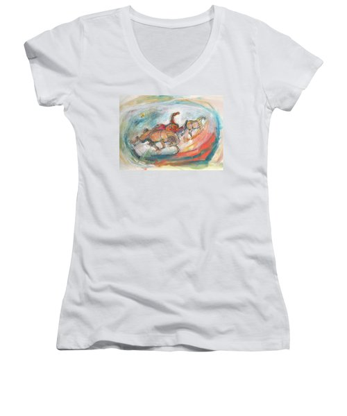 Dynamic Run Women's V-Neck T-Shirt