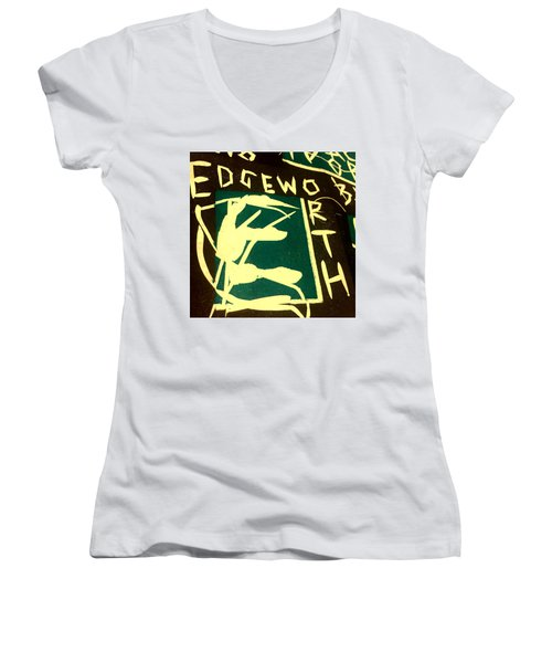 E Cd Cover Art Women's V-Neck