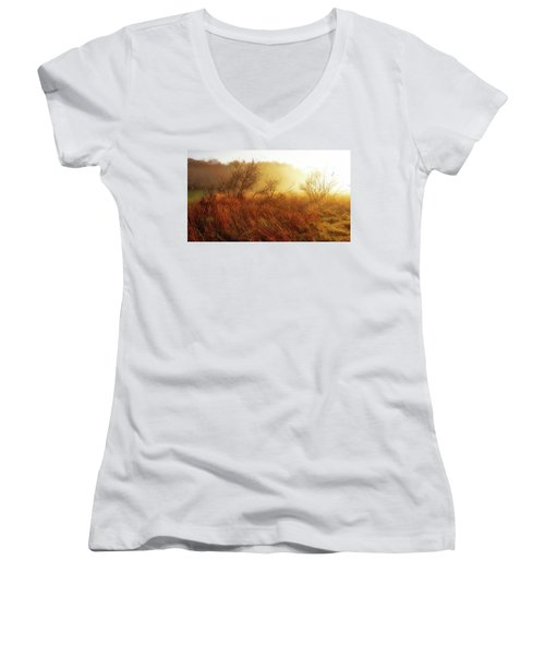 Early Morning Country Women's V-Neck