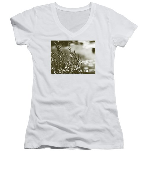 Early Morning Reflections Women's V-Neck