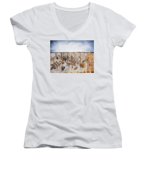 Earth And Sky II Women's V-Neck T-Shirt
