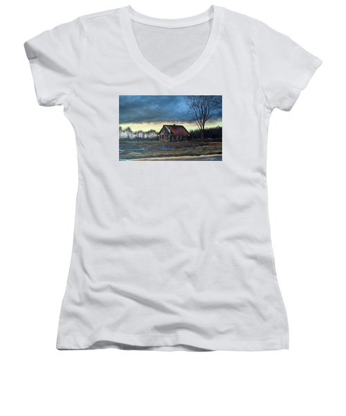 East Of Eden Women's V-Neck T-Shirt