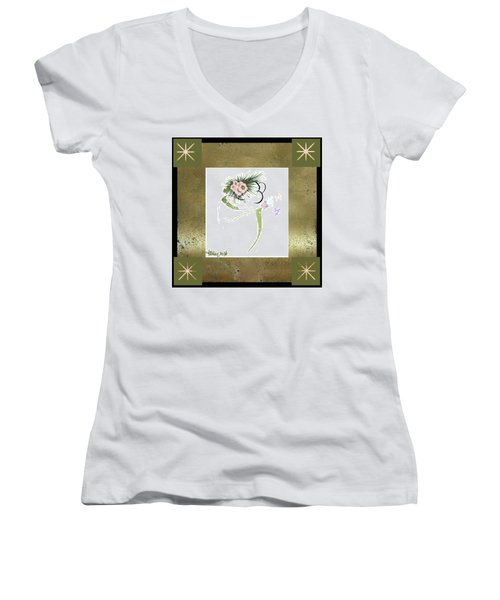 East Wind - Small Gathering Women's V-Neck