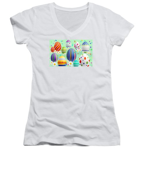 Easter Women's V-Neck