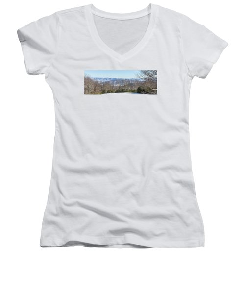 Easterly Winter View Women's V-Neck