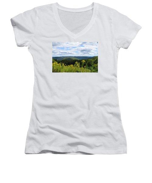 Eastern Summit 1 Women's V-Neck T-Shirt