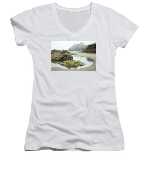 Ecola Tidepool Women's V-Neck T-Shirt