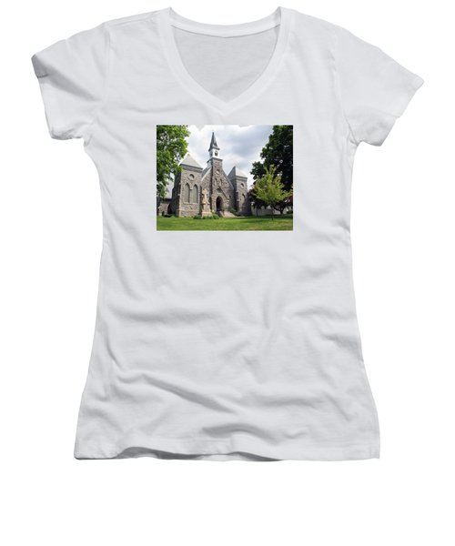 Edward The Confessor Women's V-Neck T-Shirt