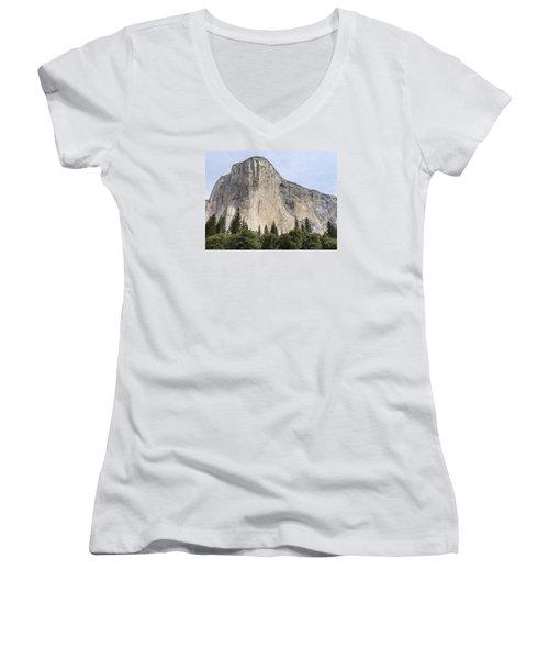 El Capitan Yosemite Valley Yosemite National Park Women's V-Neck