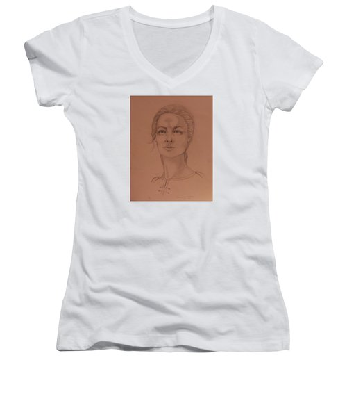 Elizabeth The White Queen Women's V-Neck T-Shirt