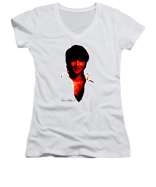 Elvis By Loxi Sibley Women's V-Neck (Athletic Fit)