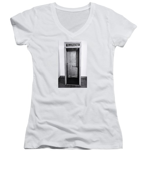 Empty Calling Women's V-Neck (Athletic Fit)