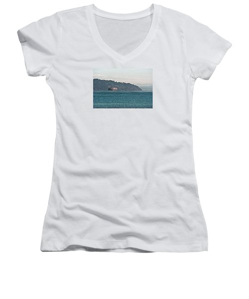 Empty Or Full? Women's V-Neck T-Shirt