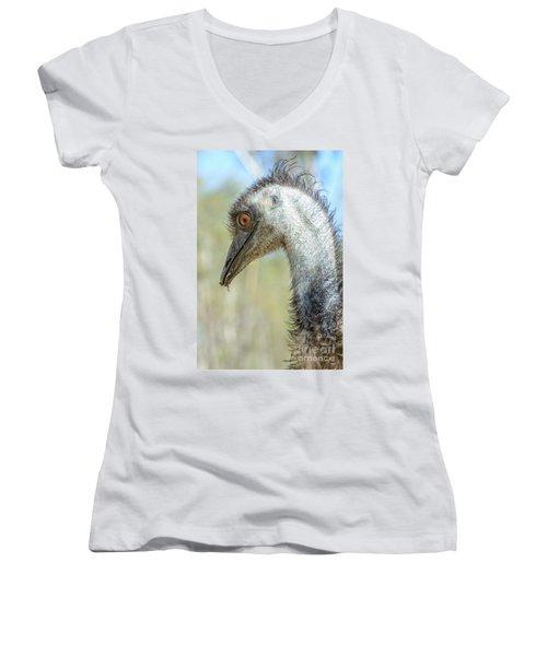 Emu 3 Women's V-Neck T-Shirt