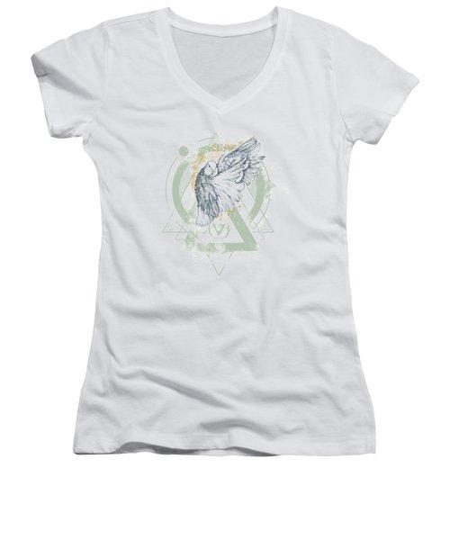 Enigma Women's V-Neck T-Shirt