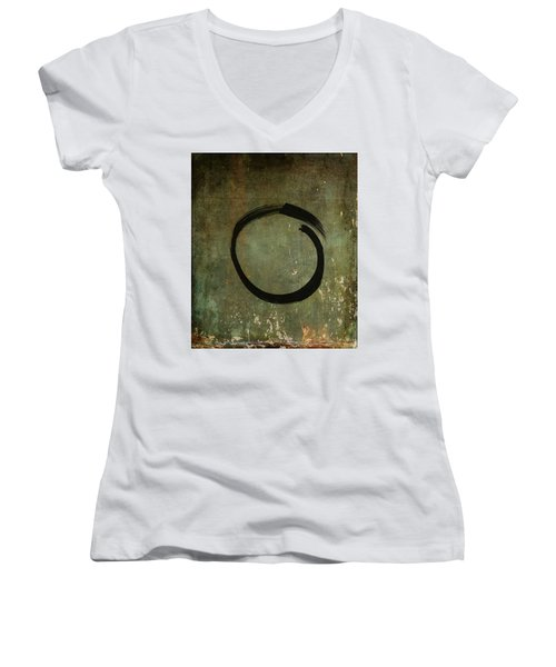 Enso #6 - As Time Goes By Women's V-Neck