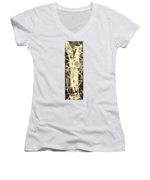 Equity Women's V-Neck T-Shirt (Junior Cut) by Carol Rashawnna Williams