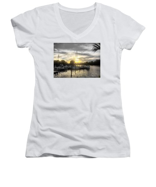 Essex Sunset Women's V-Neck