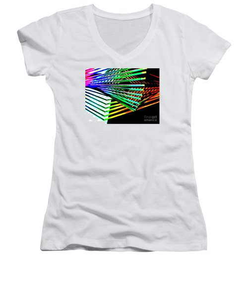 Euclids Geometry Women's V-Neck T-Shirt