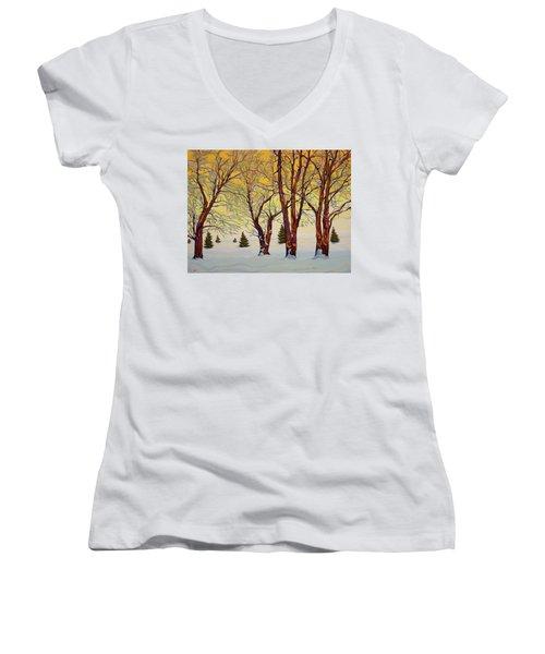 Euphoric Treequility Women's V-Neck