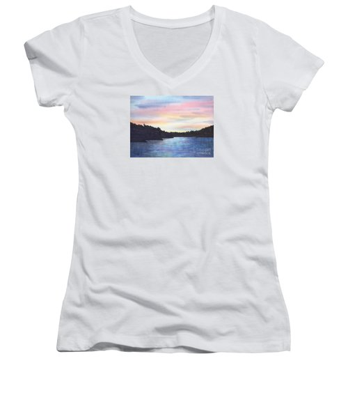 Evening Silhouette Women's V-Neck