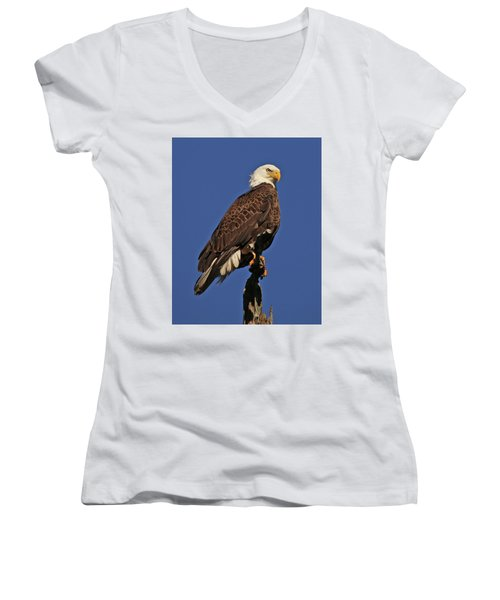 Ever Watchful Women's V-Neck (Athletic Fit)