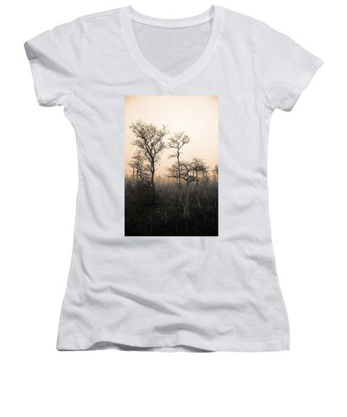 Everglades Cypress Stand Women's V-Neck