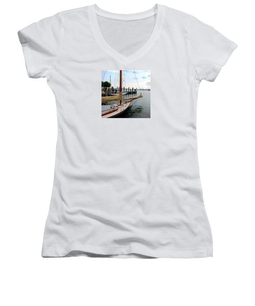 Fair Weather Annapolis  Women's V-Neck