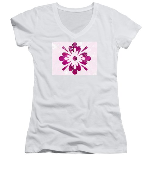 Fall Leaves #12 Women's V-Neck