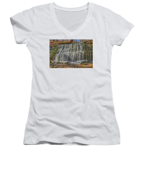 Falling Water Women's V-Neck