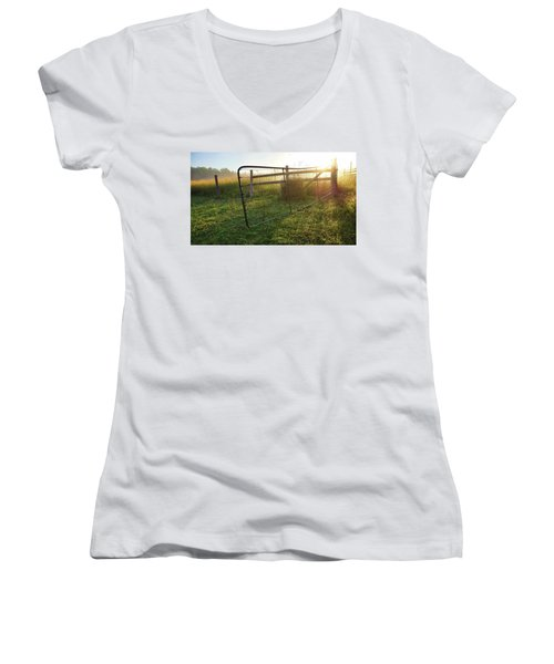 Farm Gate Women's V-Neck