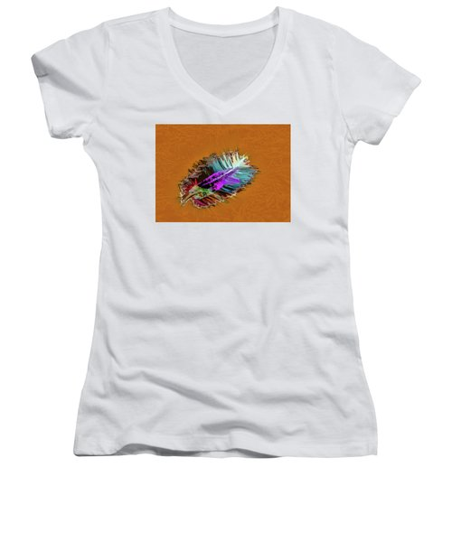 Feather #h8 Women's V-Neck