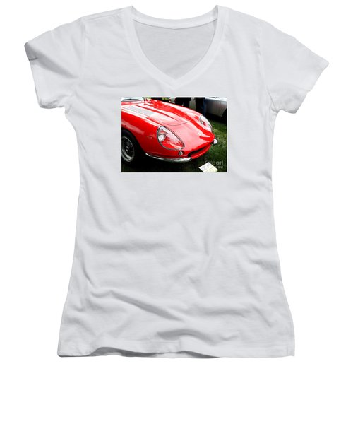 Ferrari 1 Women's V-Neck (Athletic Fit)