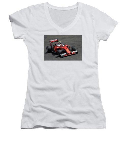 Ferrari Sf16-h Women's V-Neck