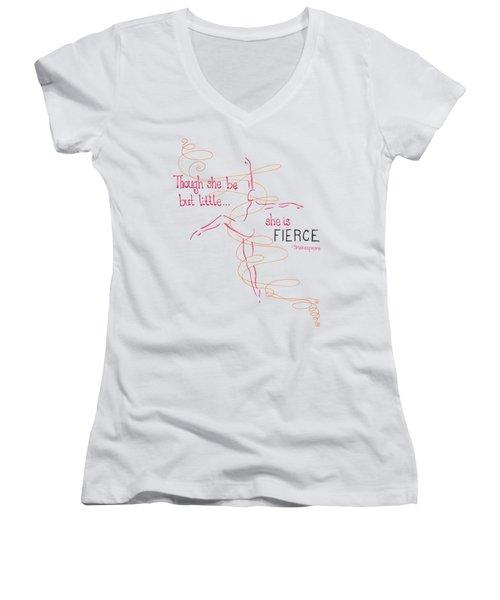 Fierce Women's V-Neck