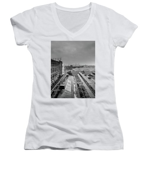 First Snow Women's V-Neck (Athletic Fit)