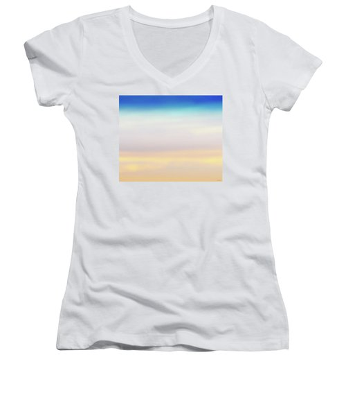 Fishers Sky Women's V-Neck T-Shirt