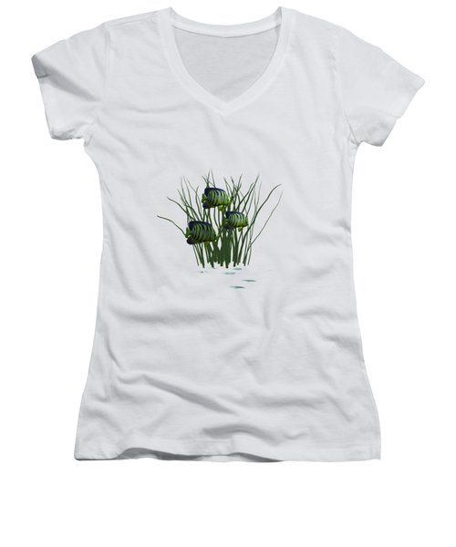 Fishpond3    T Shirt Women's V-Neck T-Shirt