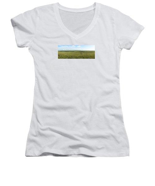 Flint Hills Women's V-Neck T-Shirt
