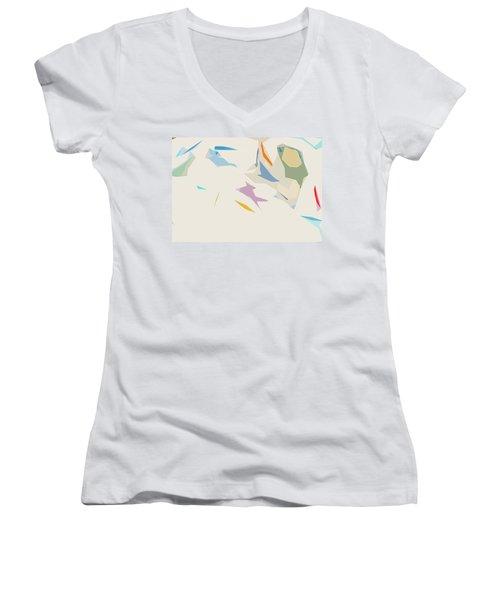 Flitters Women's V-Neck T-Shirt