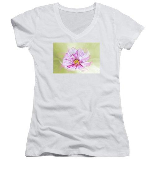 Floral Wonder Women's V-Neck