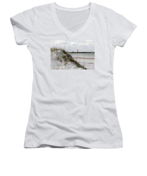 Florida Lighthouse Women's V-Neck T-Shirt