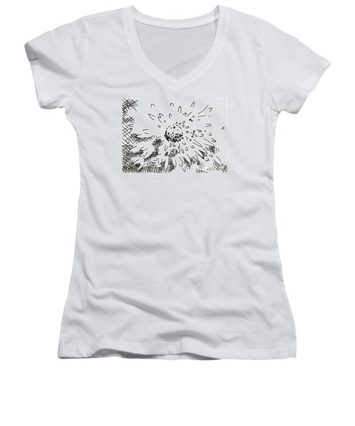 Flower 2 2015 - Aceo Women's V-Neck (Athletic Fit)