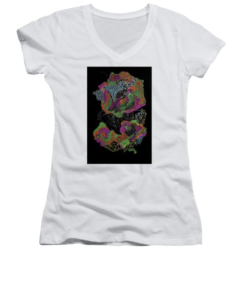 Flower Of Life Women's V-Neck
