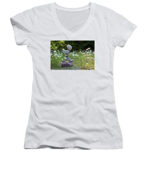 Flower Of Love. Women's V-Neck