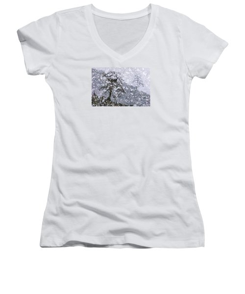 Flower Shower Women's V-Neck T-Shirt