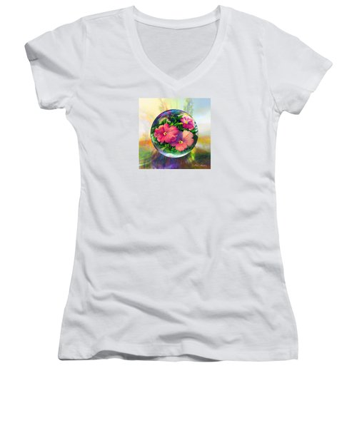 Flowering Panopticon Women's V-Neck